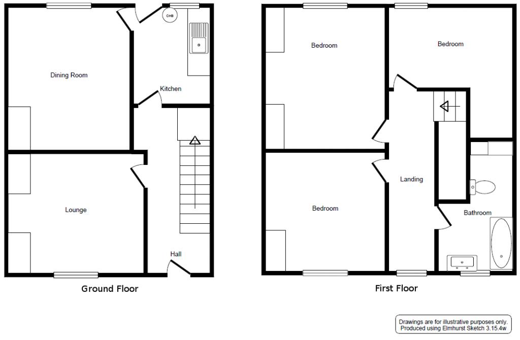 Example Floor Plan - Sketch 1