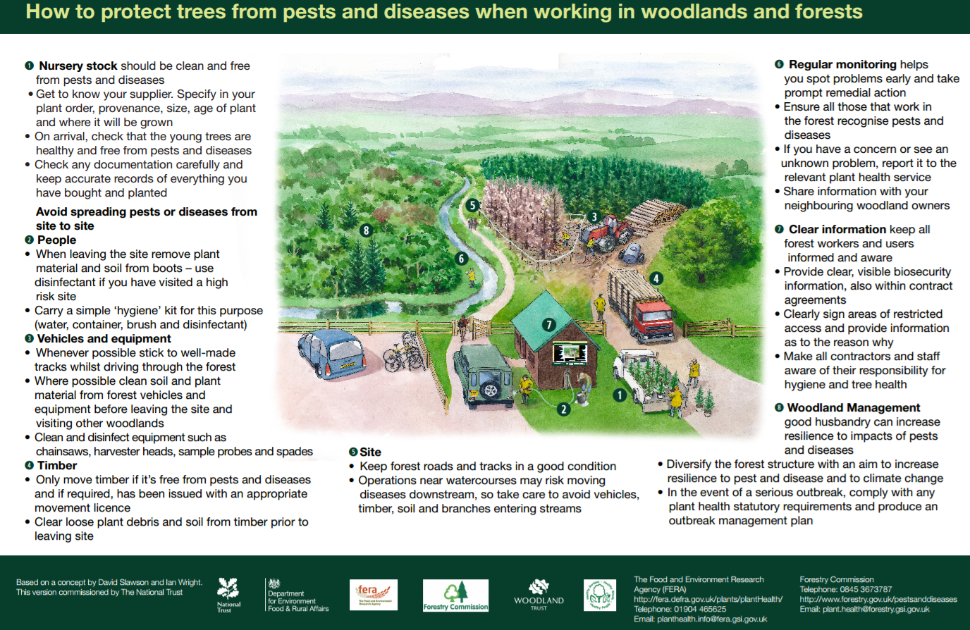 Biosecurity - Protecting Trees from Pests and Diseases
